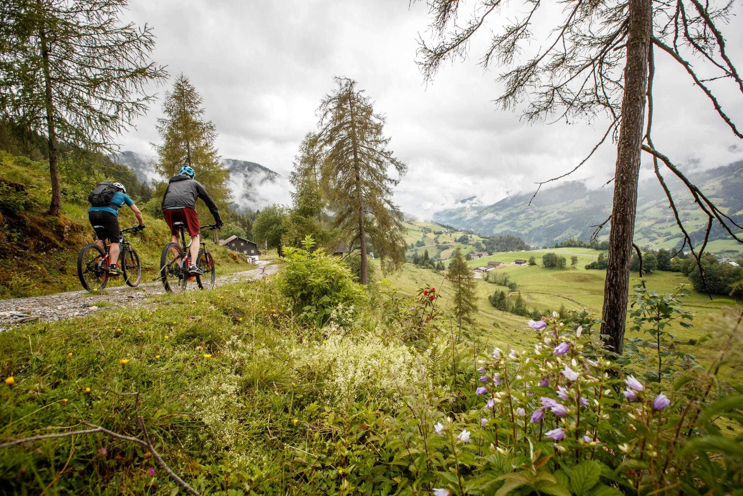 With the mountainbike to the Kapelleralp